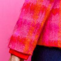 NCM Bähr Theodora Designer Blazer pink aus Hochwertiger Wolle