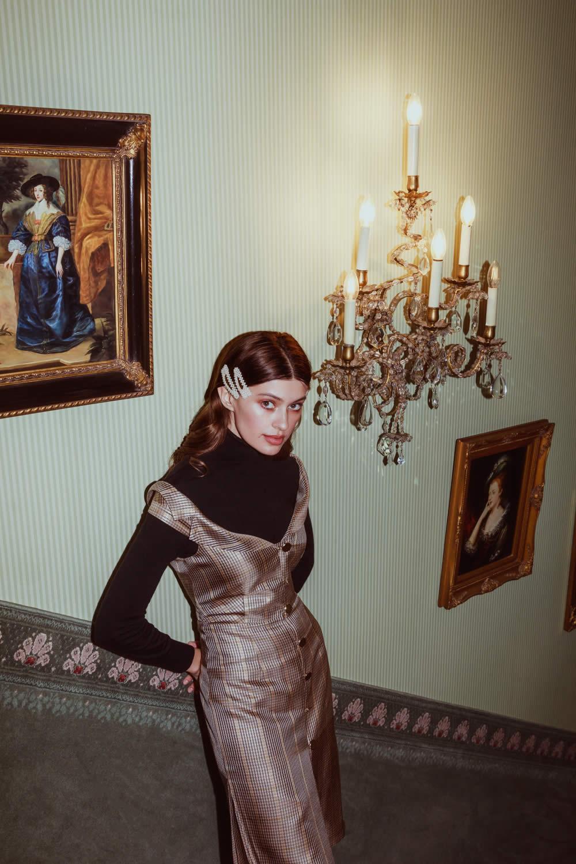 NCM Bähr Ophelia Designer Kleid Carmen-ausschnitt