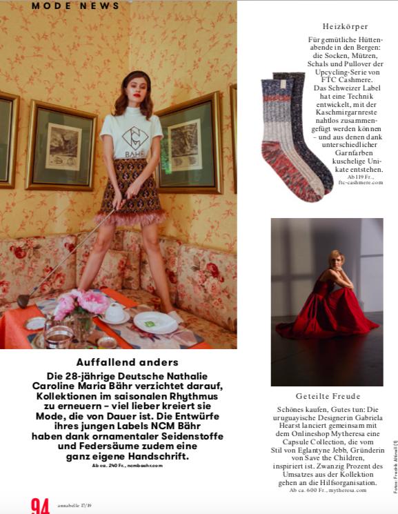 NCM BÄHR_ANNABELLE_Editorial-Modemagazin-Veroeffentlichung_4.Dezember-2019