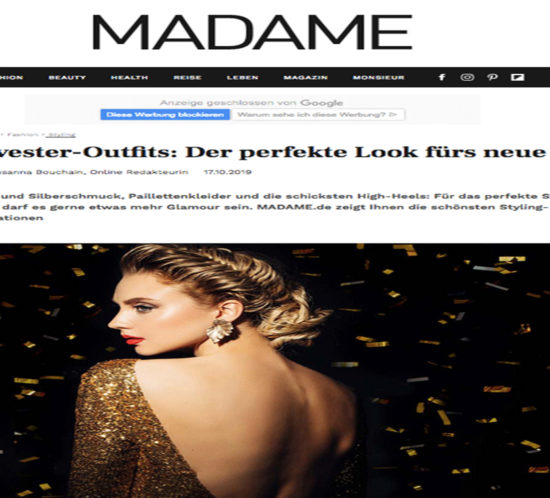 Madame Silvester Outfit NCM Bähr
