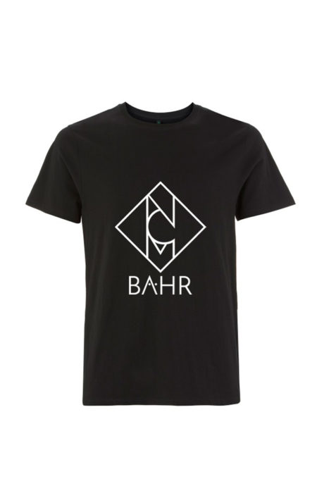 NCM Bähr Logo T-Shirt schwarz Designermode