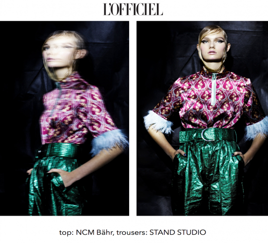 Mode editorial l´officielbaltics NCM Bähr Oberteil